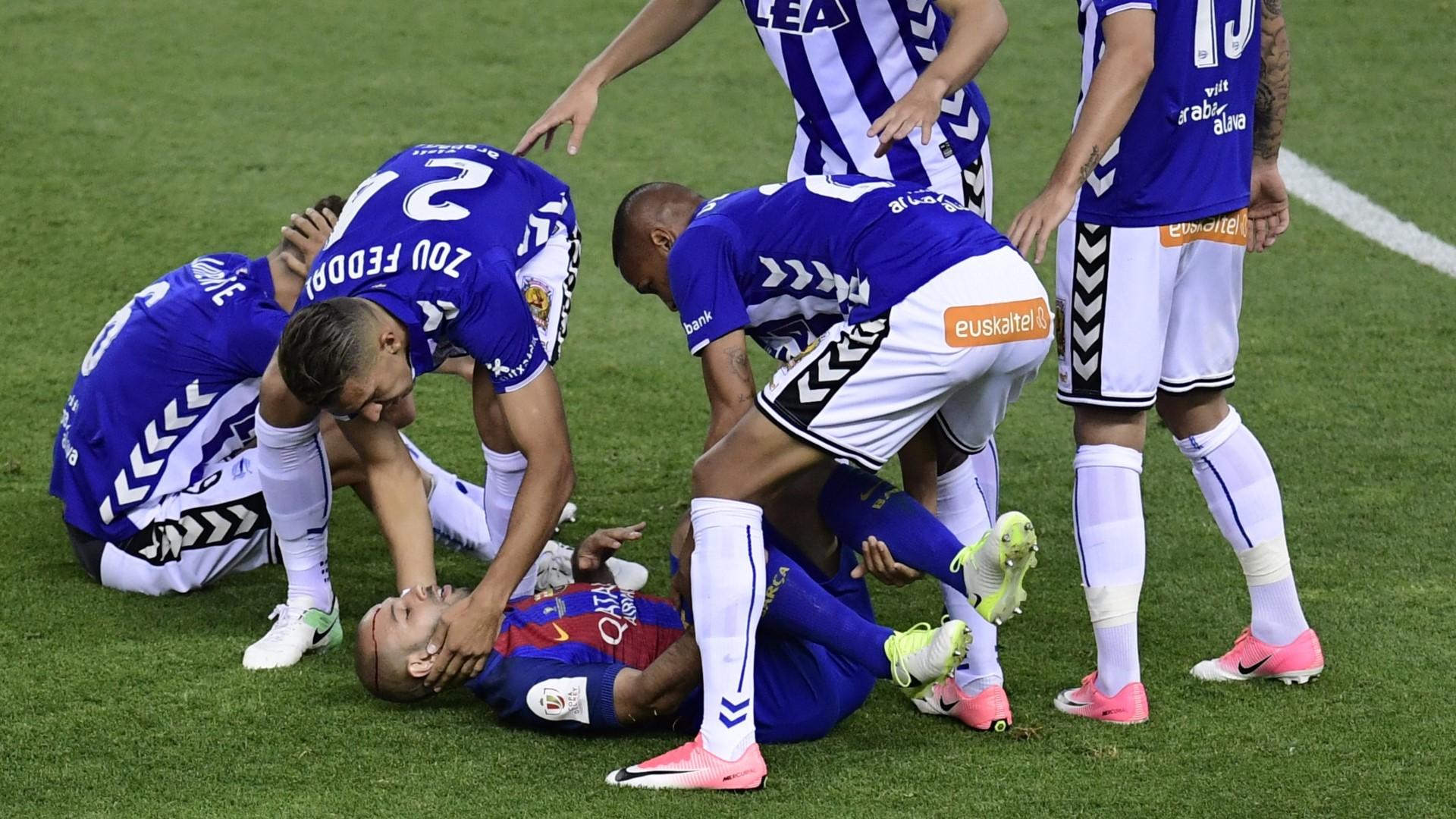 Javier Mascherano Barcelona Alaves Copa del Rey 27052017