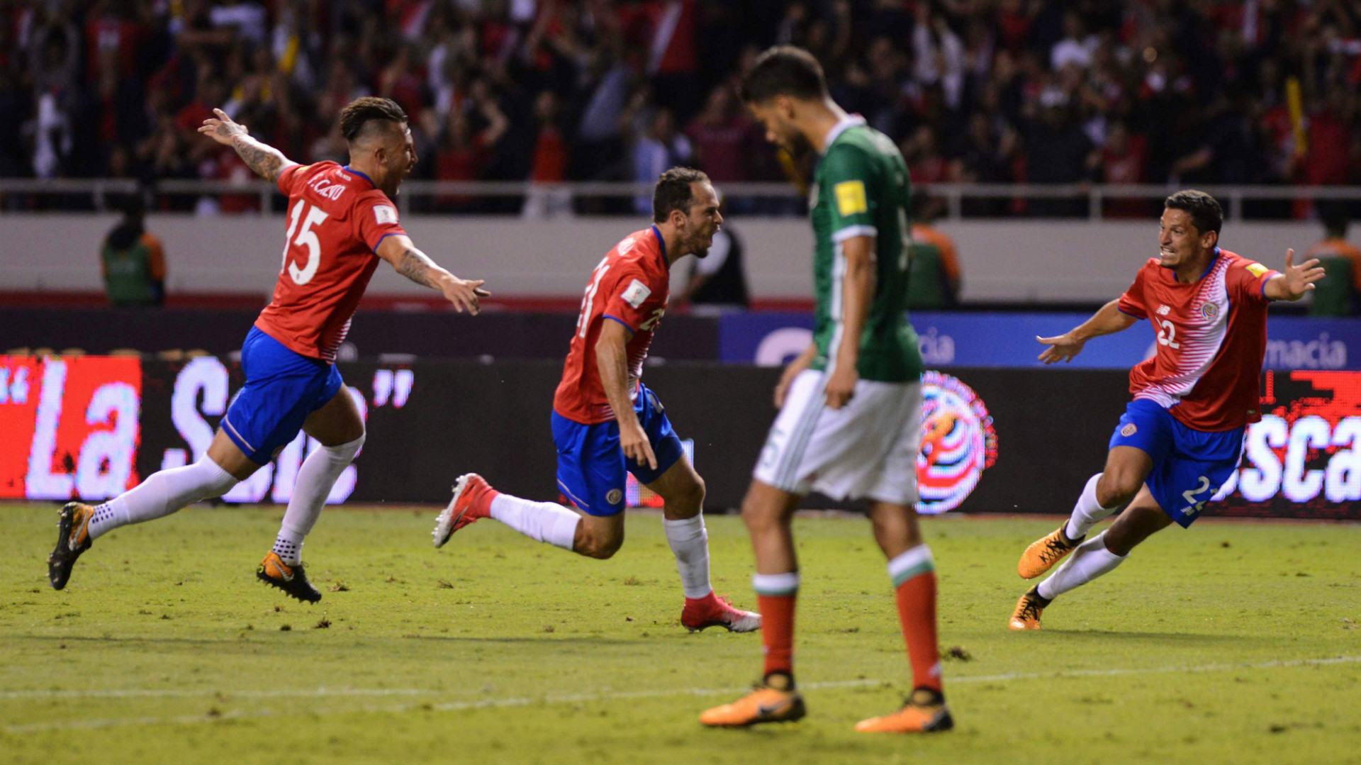 Diego Reyes Mexico Francisco Calvo Marco Urena Jose Guillermo Ortiz Costa Rica