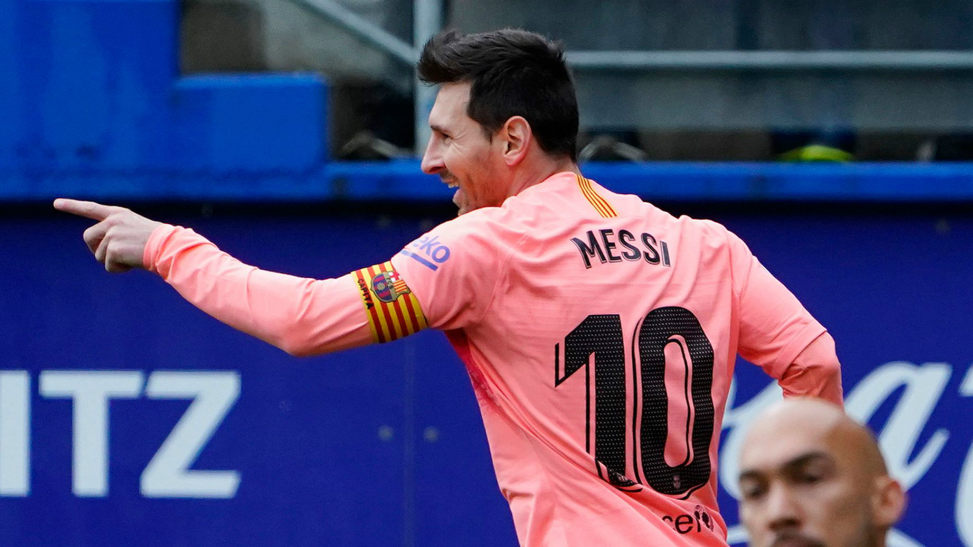 梅西第六次夺得西甲金靴 追平历史纪录