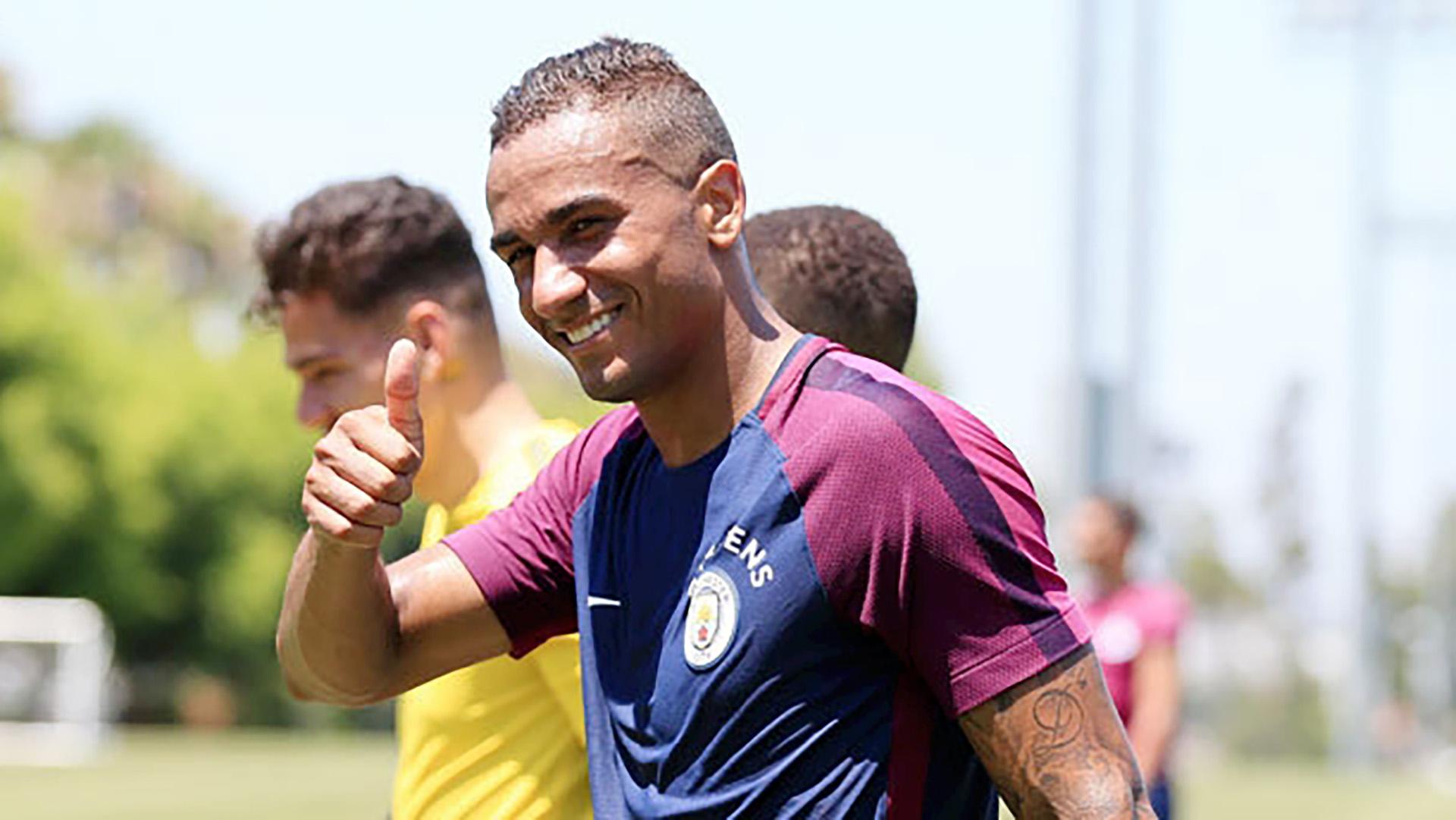 Danilo Luiz Manchester City training 07242017