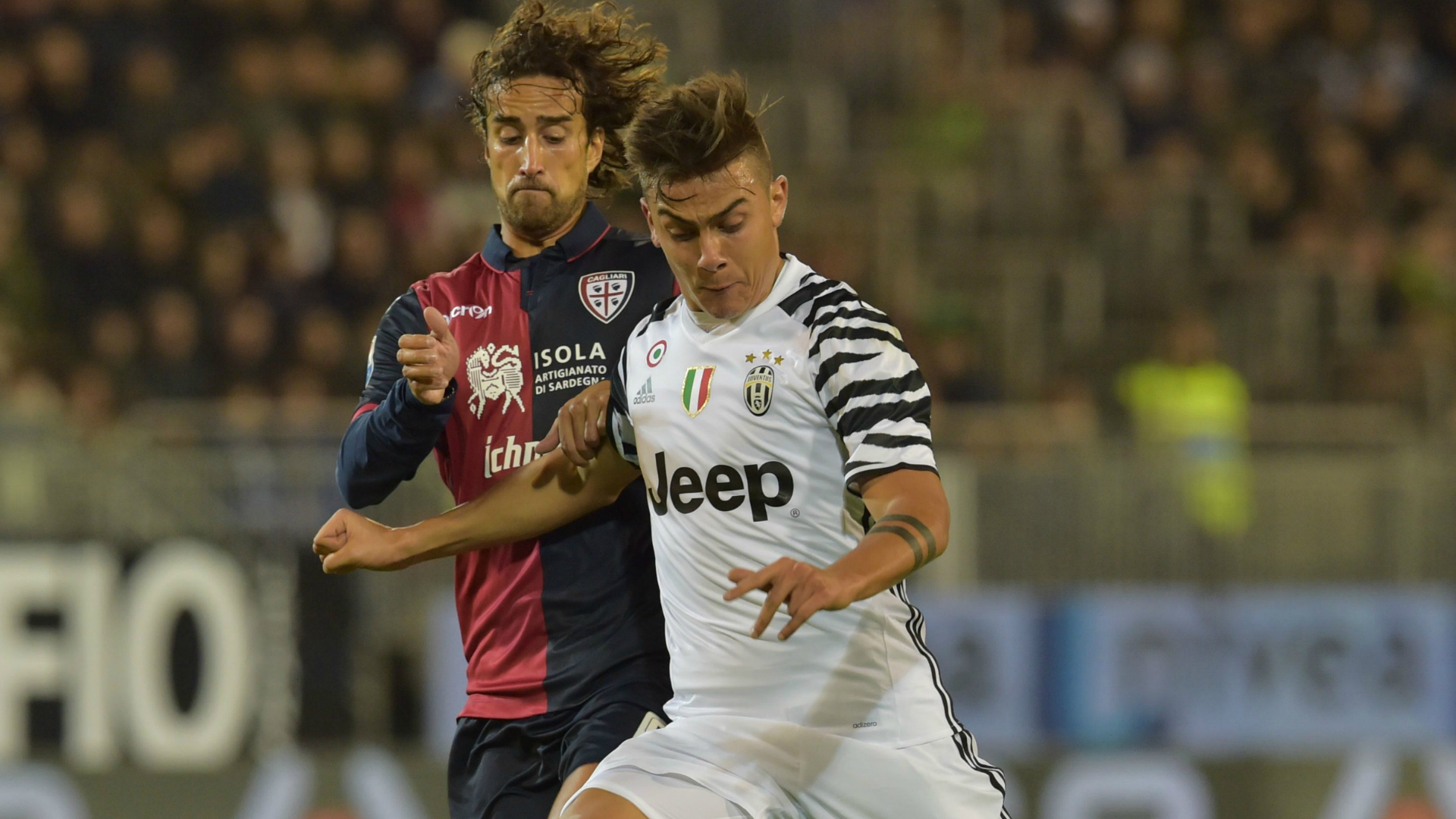 Paulo Dybala Cagliari Juventus Serie A 12022017