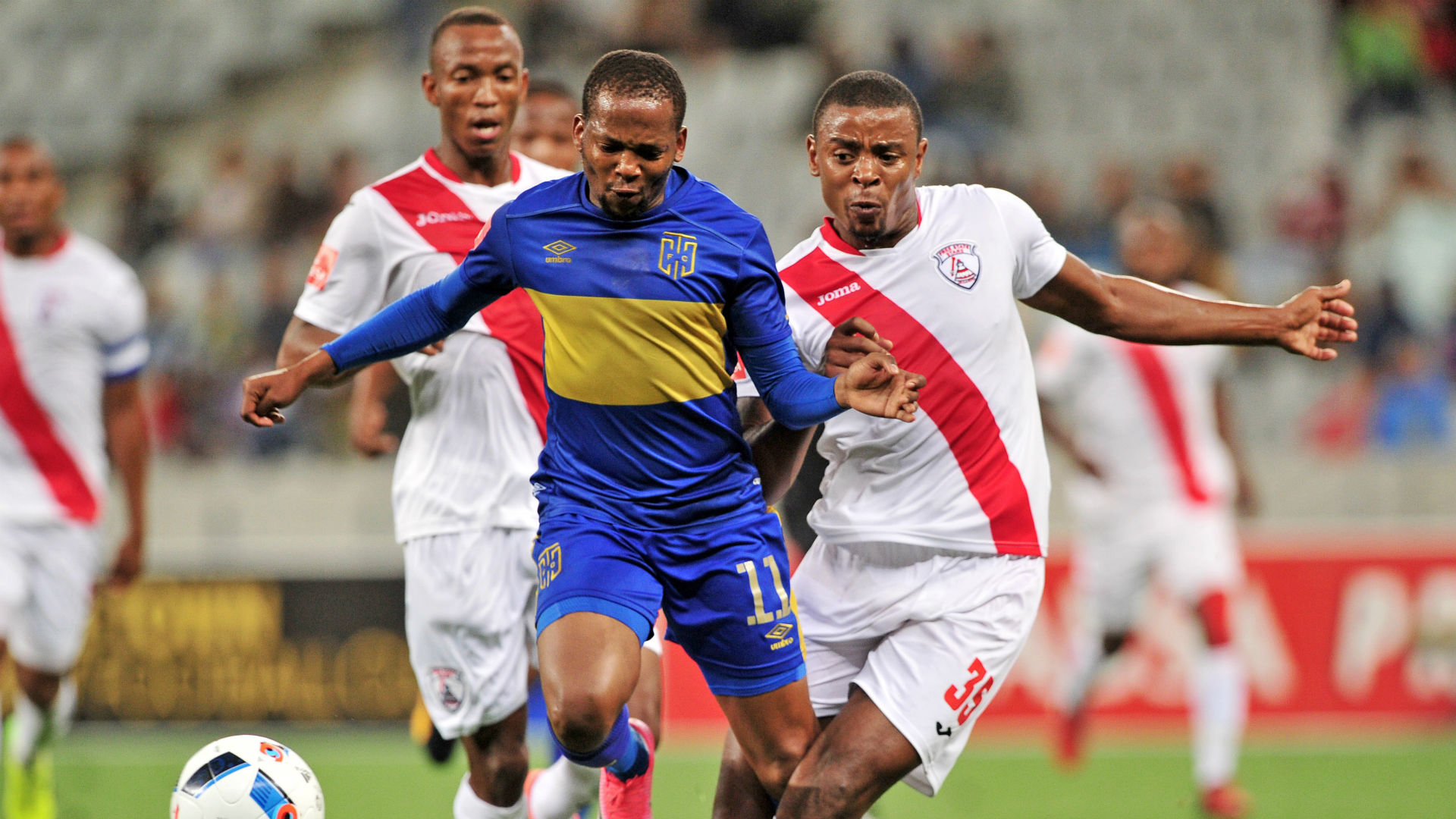 Cape Town City, Aubrey Ngoma & Free State Stars, Tamsanqa Teyise