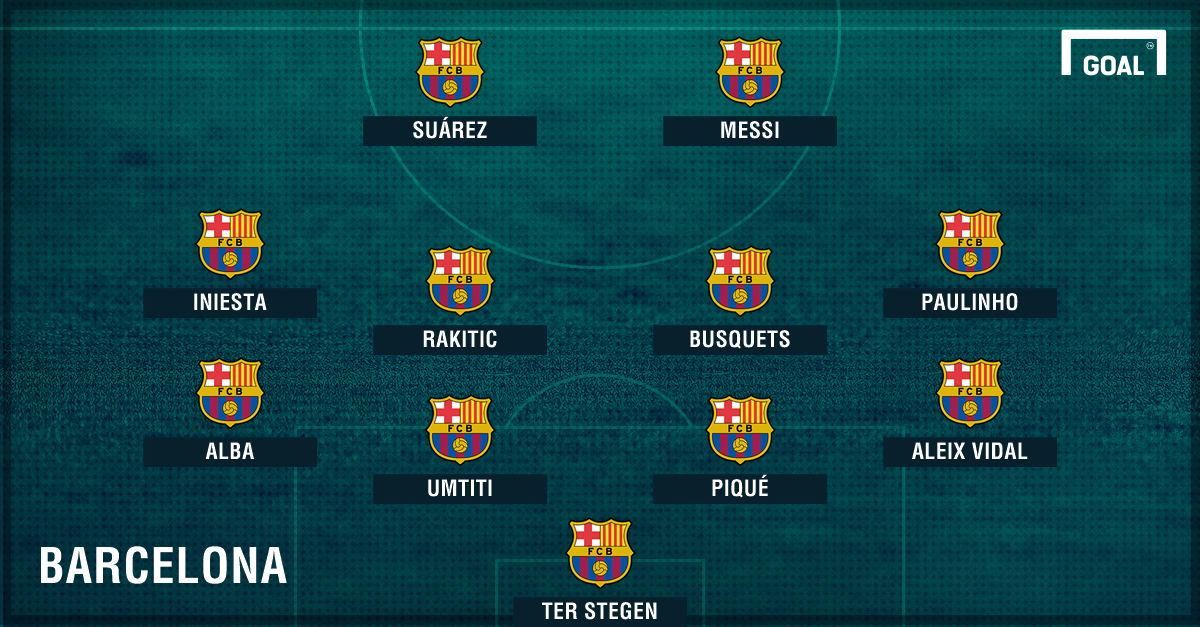 4-4-2 GFX Barcelona Paulinho