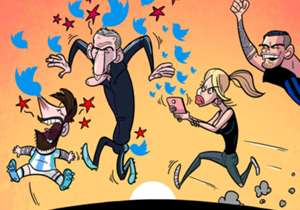 27 DE MARÇO | Namorada de Icardi, Wanda Nara disparou tuítes nada elogiosos para Bauza e Messi após jogador da Internazionale não integrar a seleção argentina