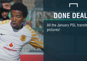 Goal takes a look at Premier Soccer League (PSL) deals which have been concluded during the current January Transfer Window...