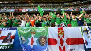 Northern Ireland fans Euro 2016