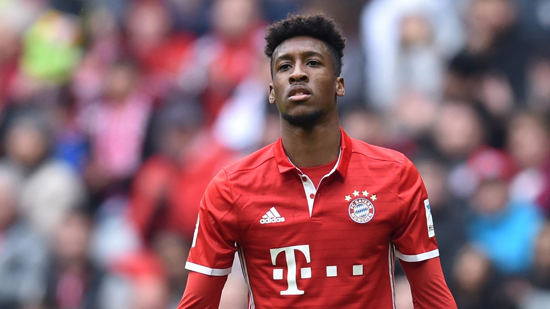 Kingsley Coman Bayern München 22042017