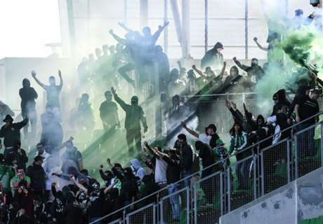 Ultras crash Saint-Etienne match