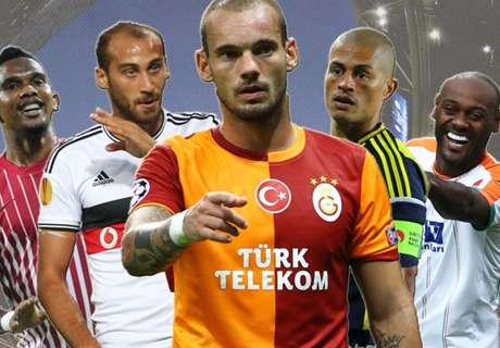 Süper Lig: Die Spieler mit den meisten Scorerpunkten