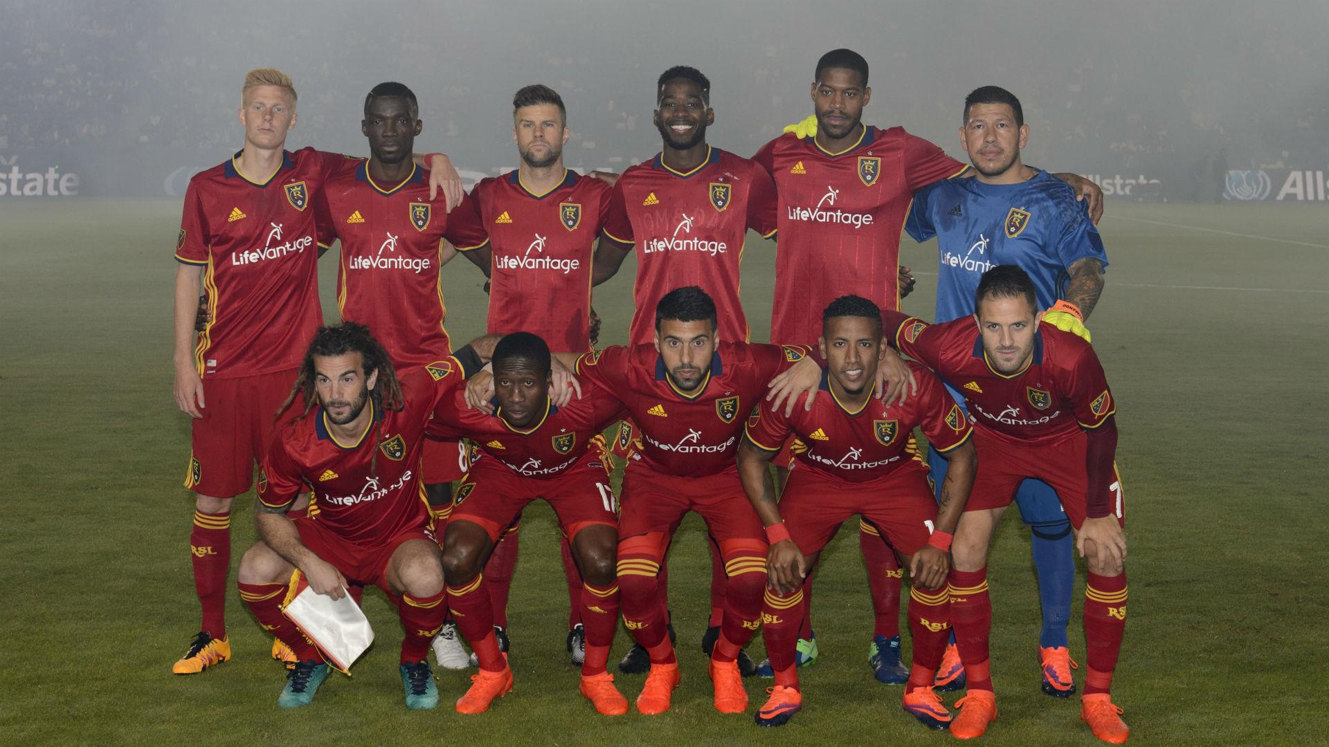 Real Salt Lake team photo 102616
