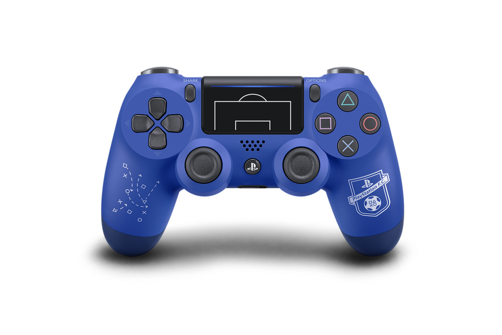 sony playstation 4 controller fußball-edition