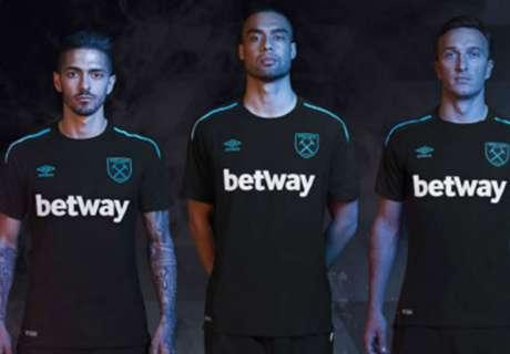 West Ham unveil 2017-18 away kit