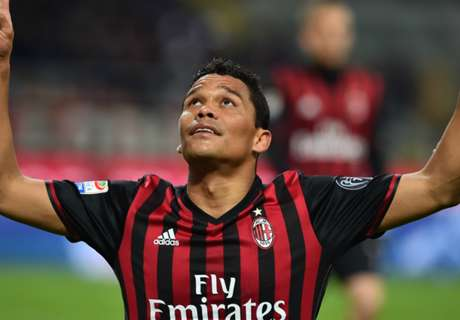 Bacca brace moves Milan to sixth