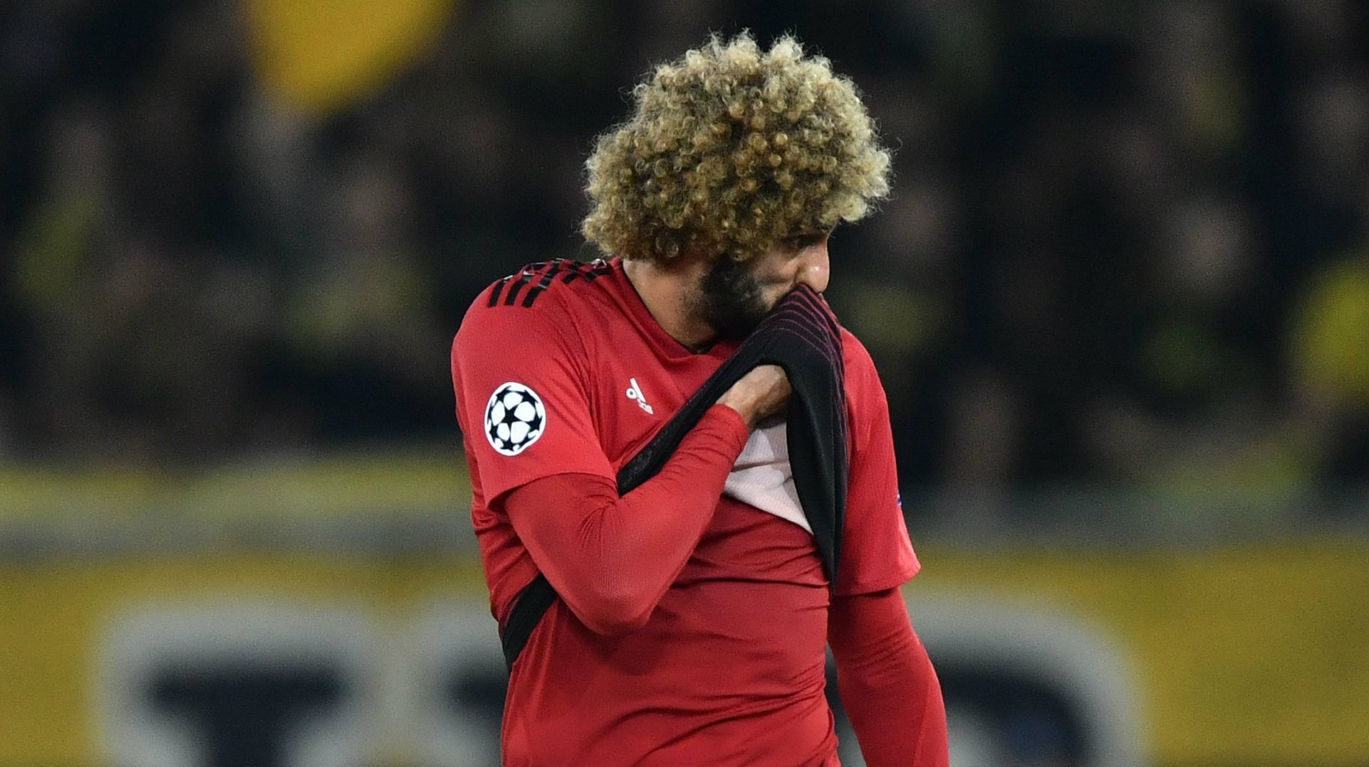 'we Know We Can Do Better'  Fellaini Worried By Man Utd's