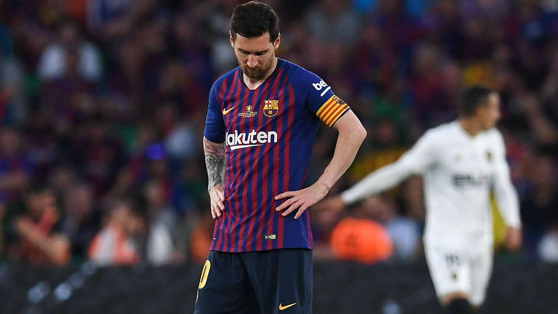 'Why doesn't he win in Europe?' - Van Gaal blames Messi for Barcelona's Champions League failures