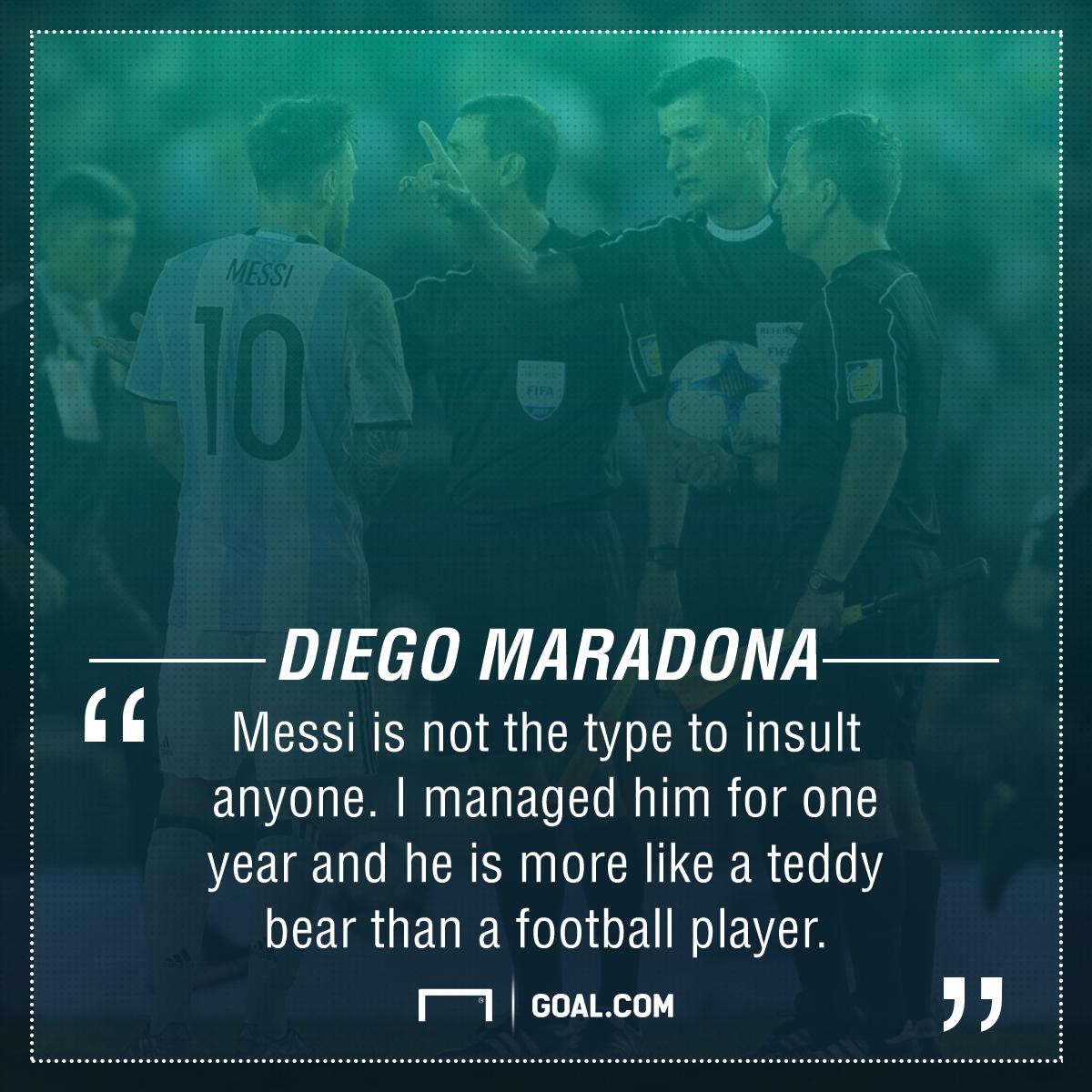 Diego Maradona Lionel Messi Argentina