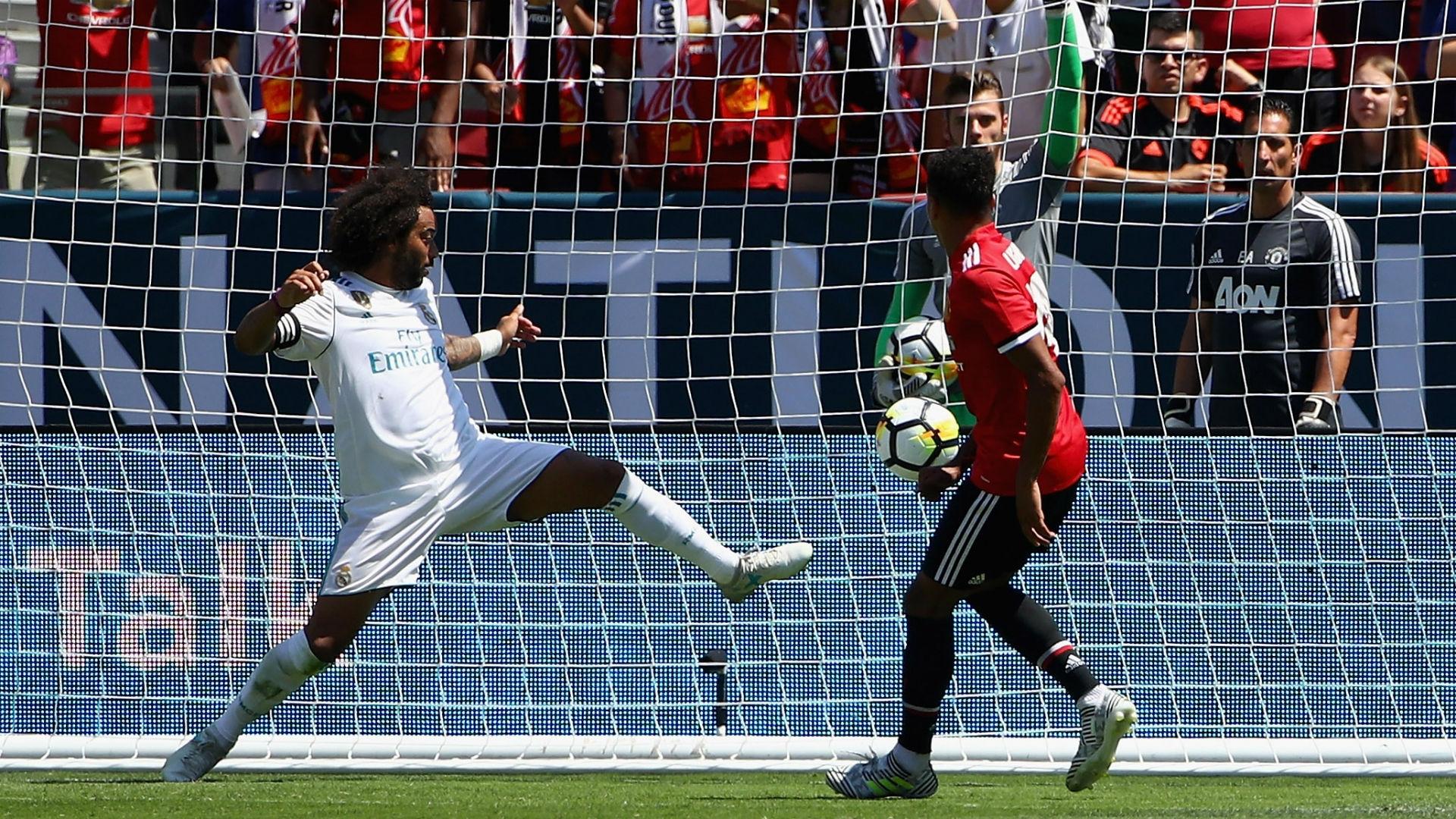 Gol Jesse Lingard vs Real Madrid