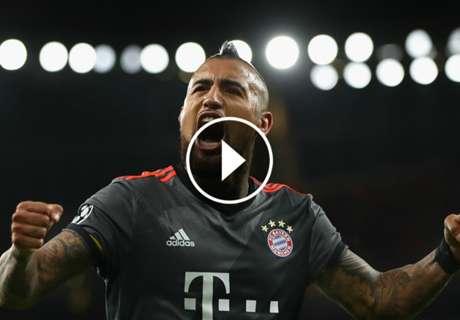 ► Los golazos del cumpleañero Vidal
