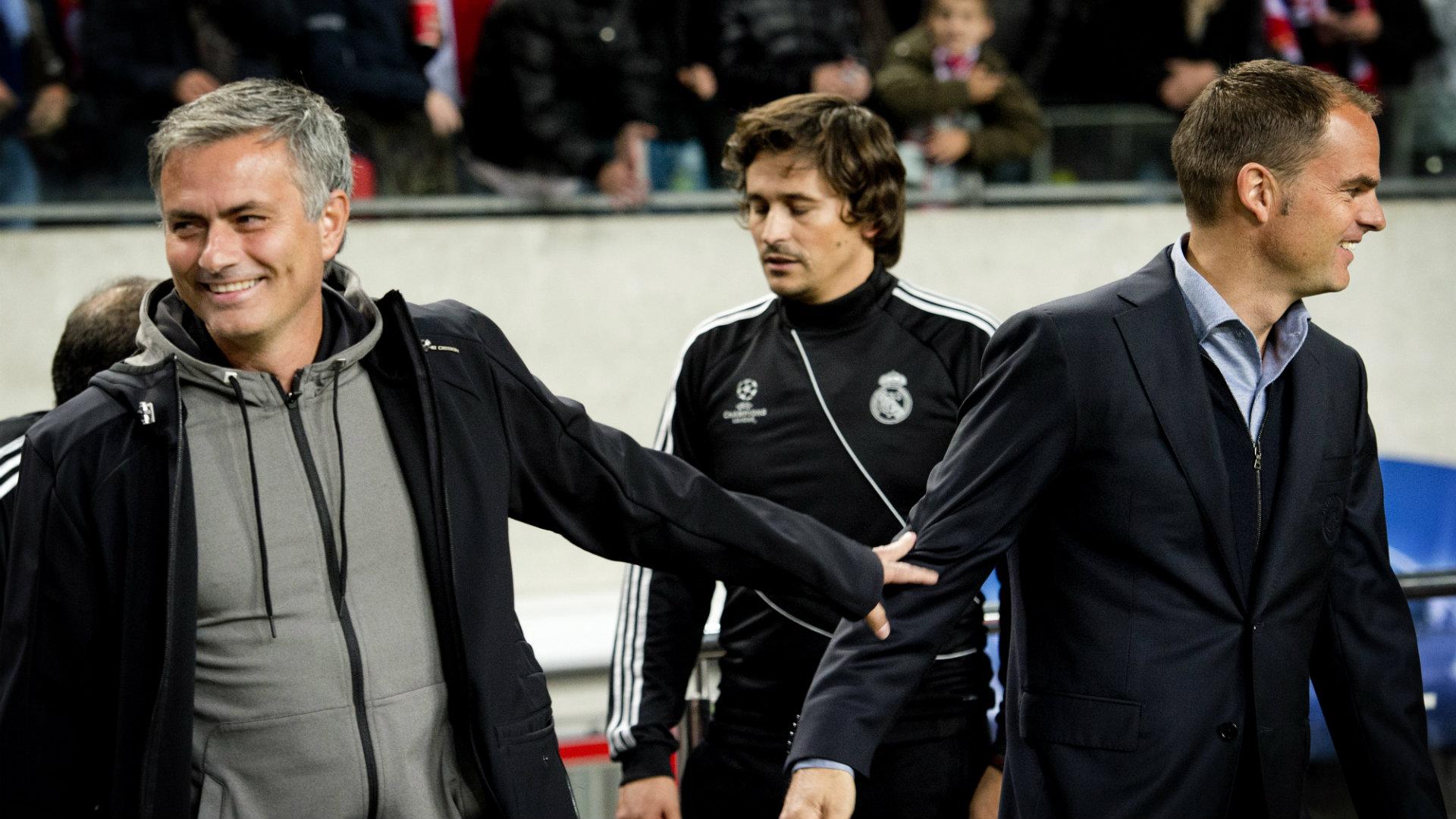Jose Mourinho Frank de Boer Ajax