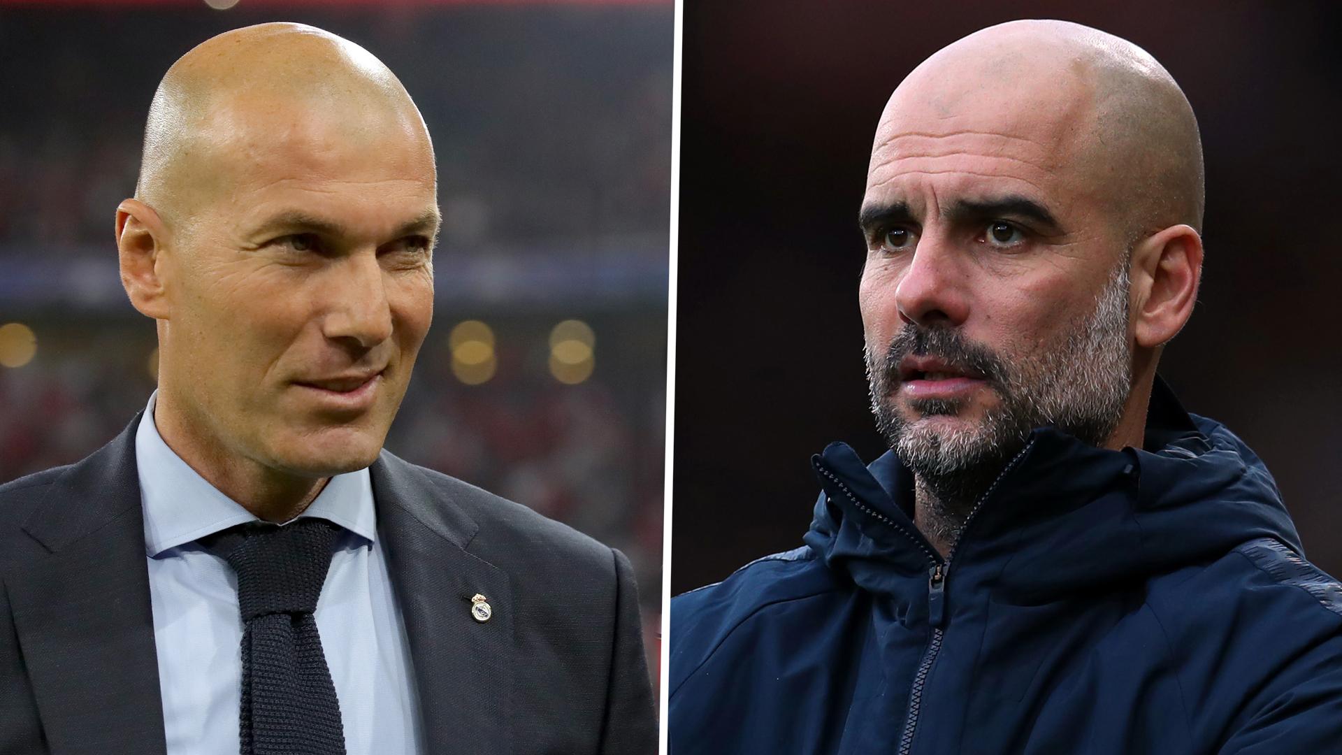 Manchester City, Guardiola encense Zidane et le Real Madrid