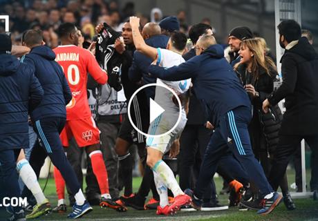 Rudelbildung! Topspiel der Ligue 1 eskaliert nach Abpfiff