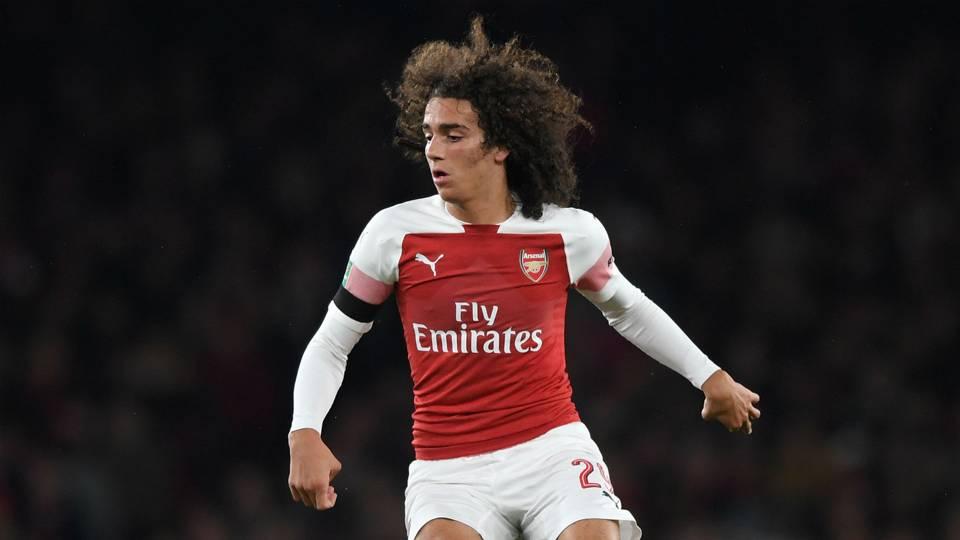 Matteo Guendouzi Arsenal Carabao Cup 31102018