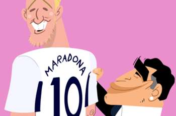 Goal's Cartoon Corner - the best football sketches from Omar Momani