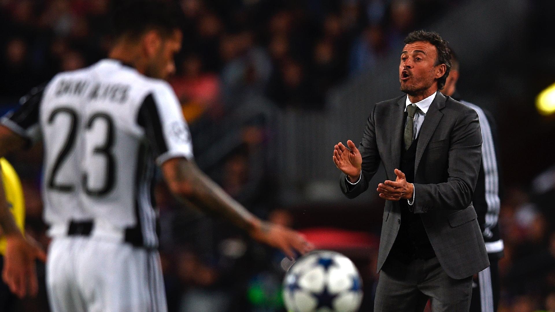 Luis Enrique Barcelona Juventus UCL 19042017
