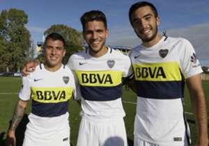 Solís, magallán y Heredia, goleadores en el 4-1 ante Newell's.