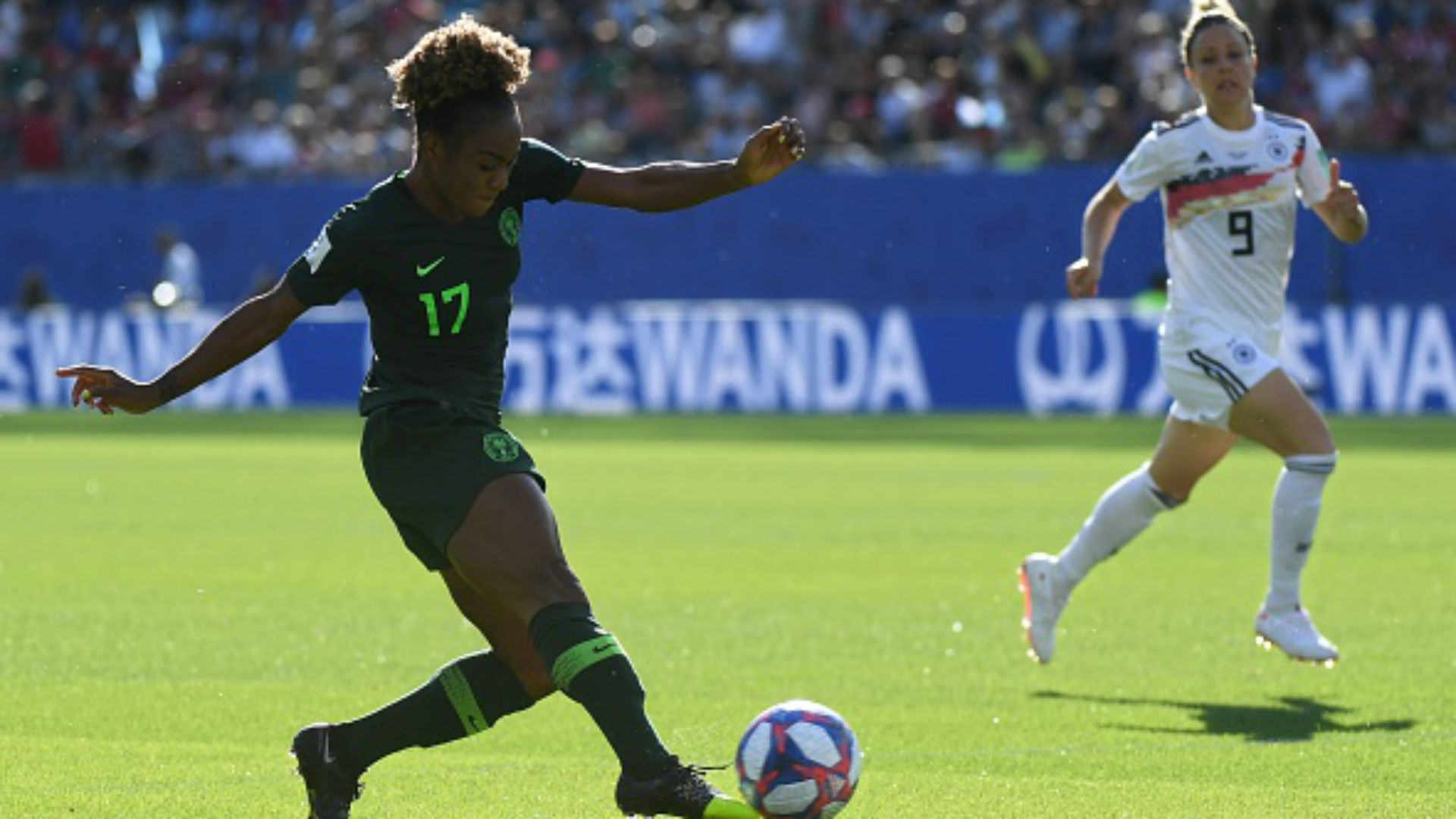 Francisca Ordega: Super Falcons star scores as Shanghai return to winning ways