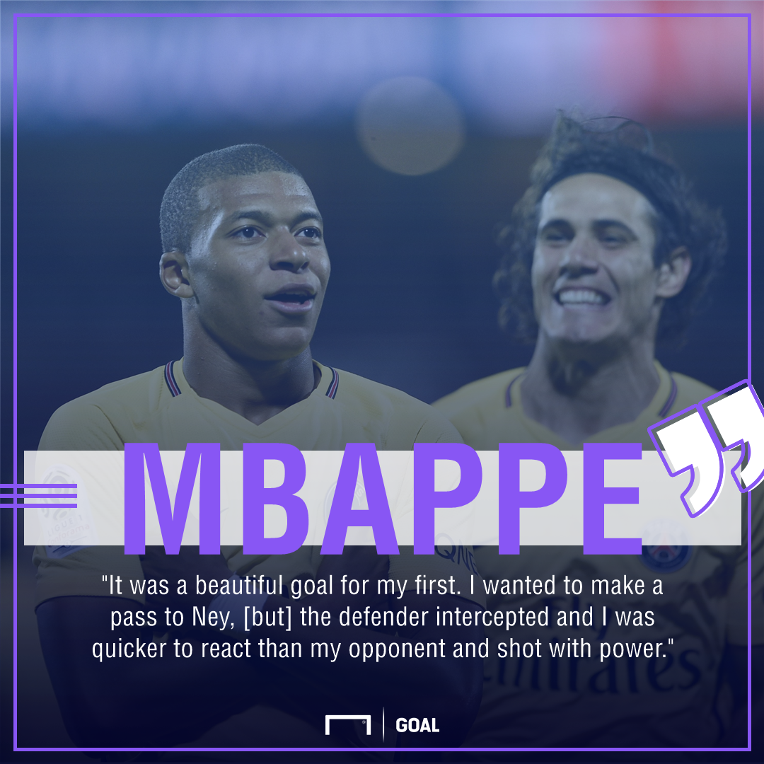 Mbappe quote