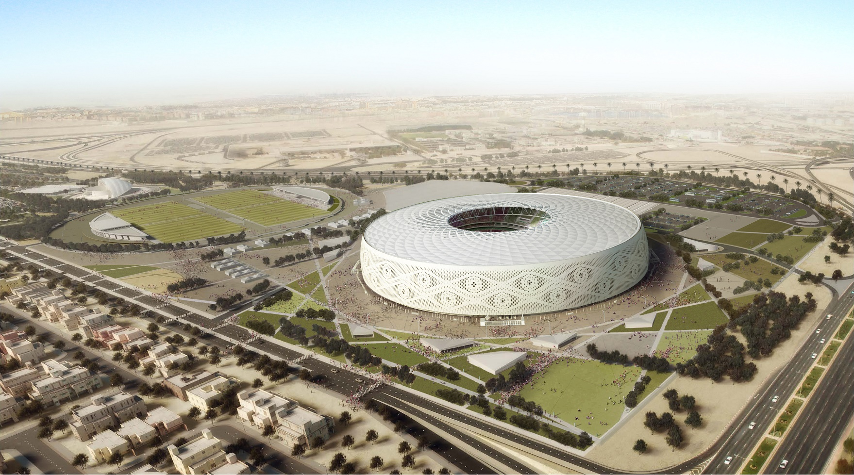 Al Thumama Stadium Qatar 2022