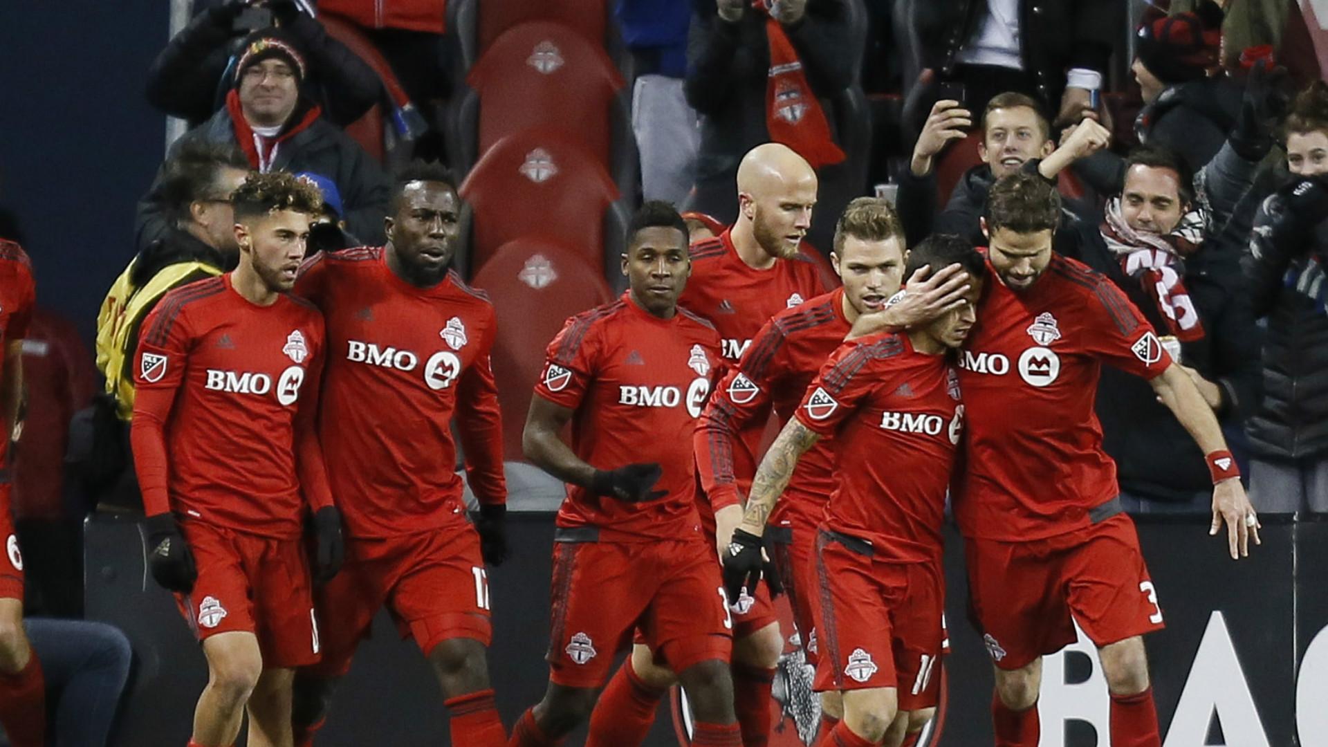 Toronto FC celebrates BMO Field 10262016