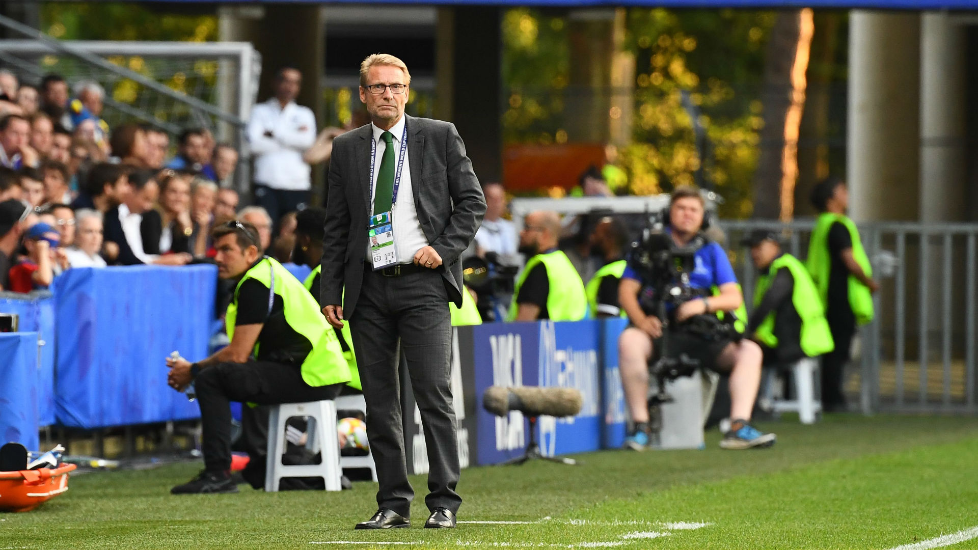 'He should continue to coach Super Falcons' - Sunday Dare intervenes in Dennerby saga