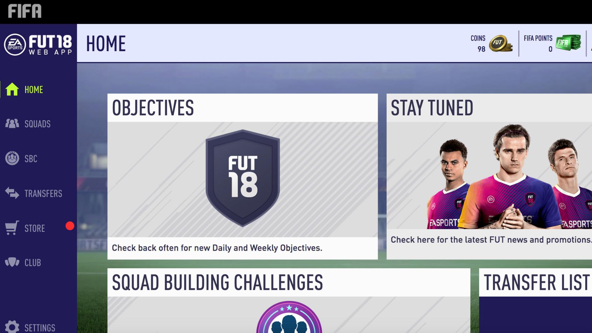 FIFA 18 UT