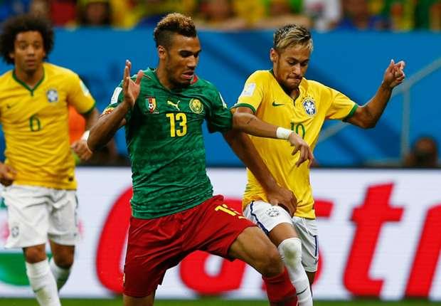 Cameroon's Eric Choupo-Moting anticipates Neymar, Marquinhos reunion in Brazil clash