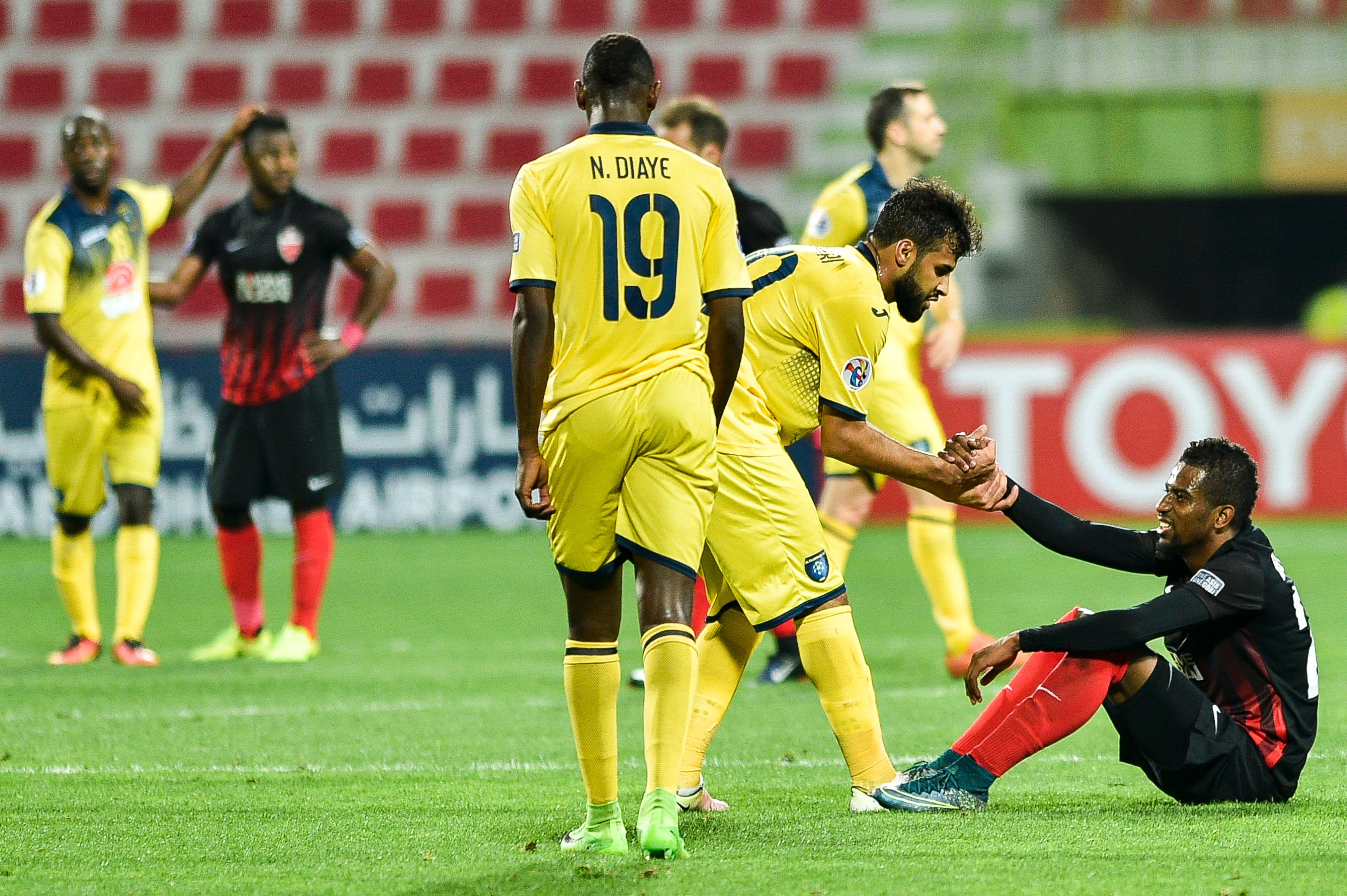 AL AHli vs Al Taawoun