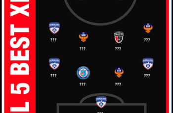 Bengaluru FC, FC Goa dominate ISL 5 Best XI
