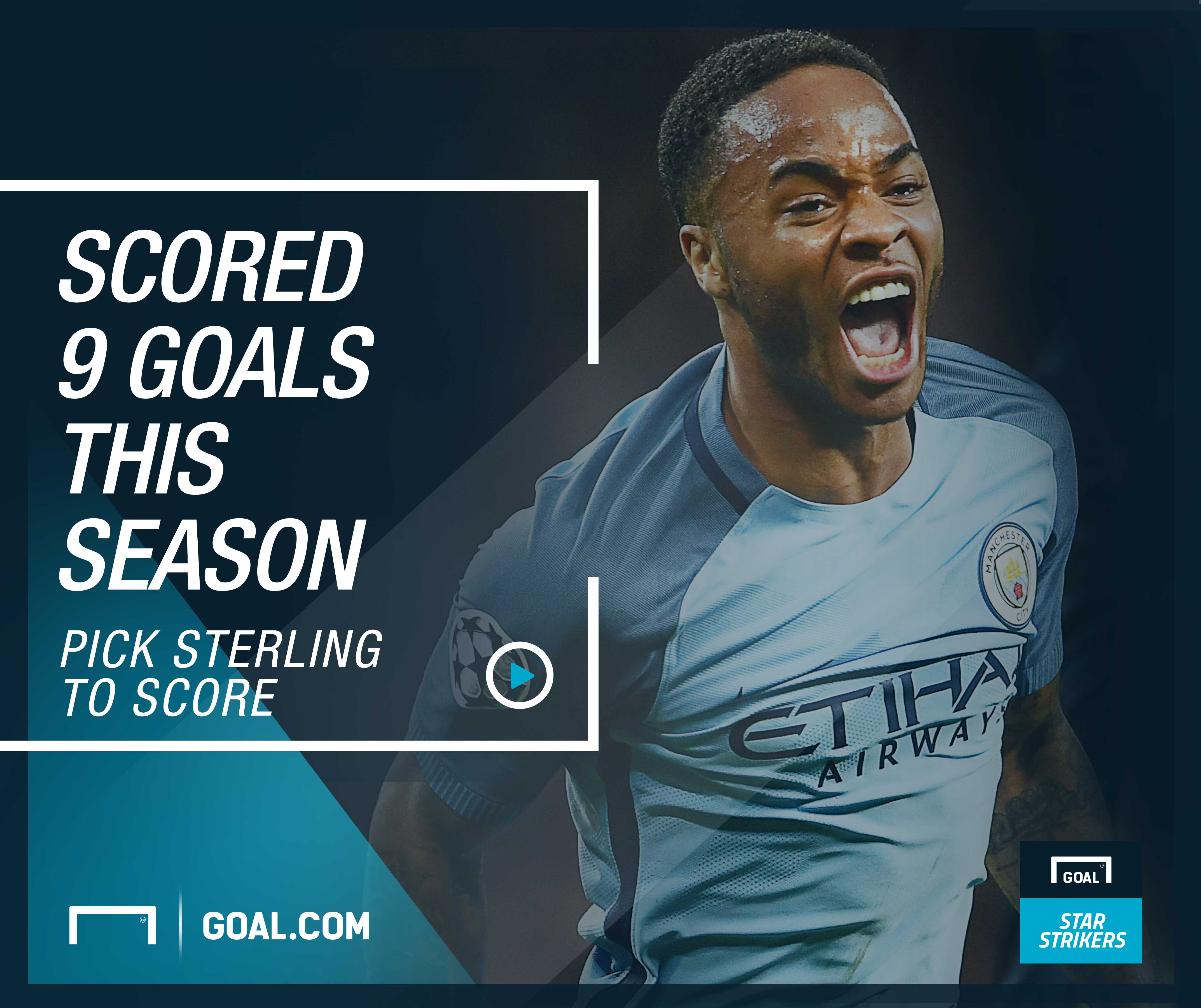 Sterling, Goal Star Strikers Article