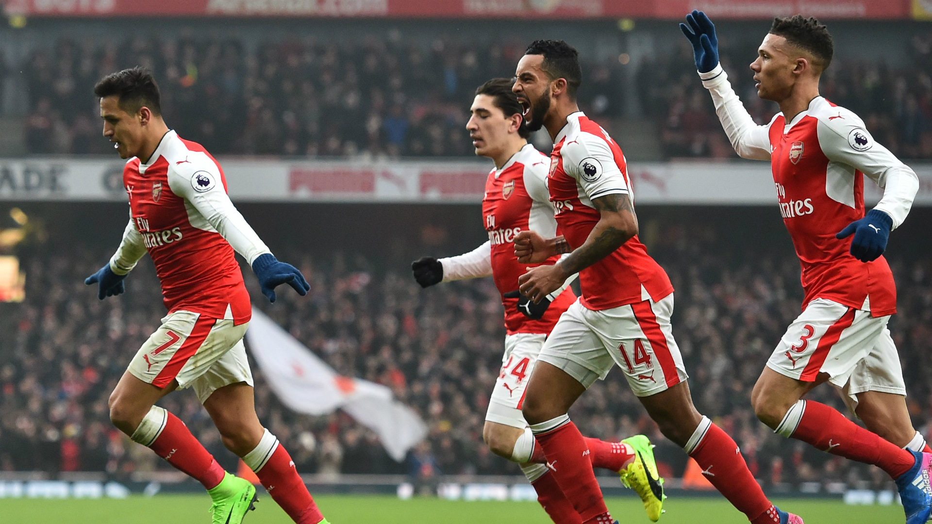Arsenal Alexis Sanchez Hull City