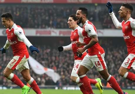 Premier League: Arsenal 2 x 0 Hull City