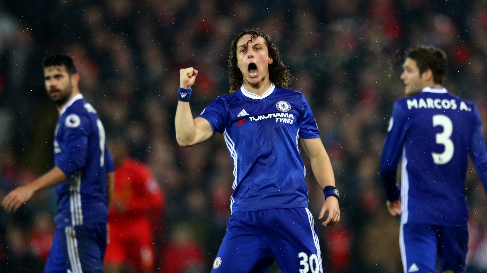 David Luiz is entering his prime at Chelsea insists Elliott