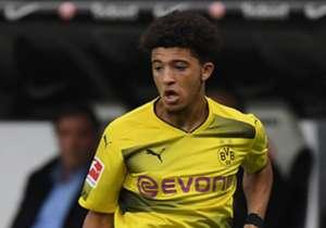 Jadon Sancho von Borussia Dortmund stand am Sonntag im Spiel gegen den VfL Wolfsburg (0:0) erstmals in einem Bundesligaspiel in der Startelf. Goal präsentiert die jüngsten Spieler der laufenden Saison.