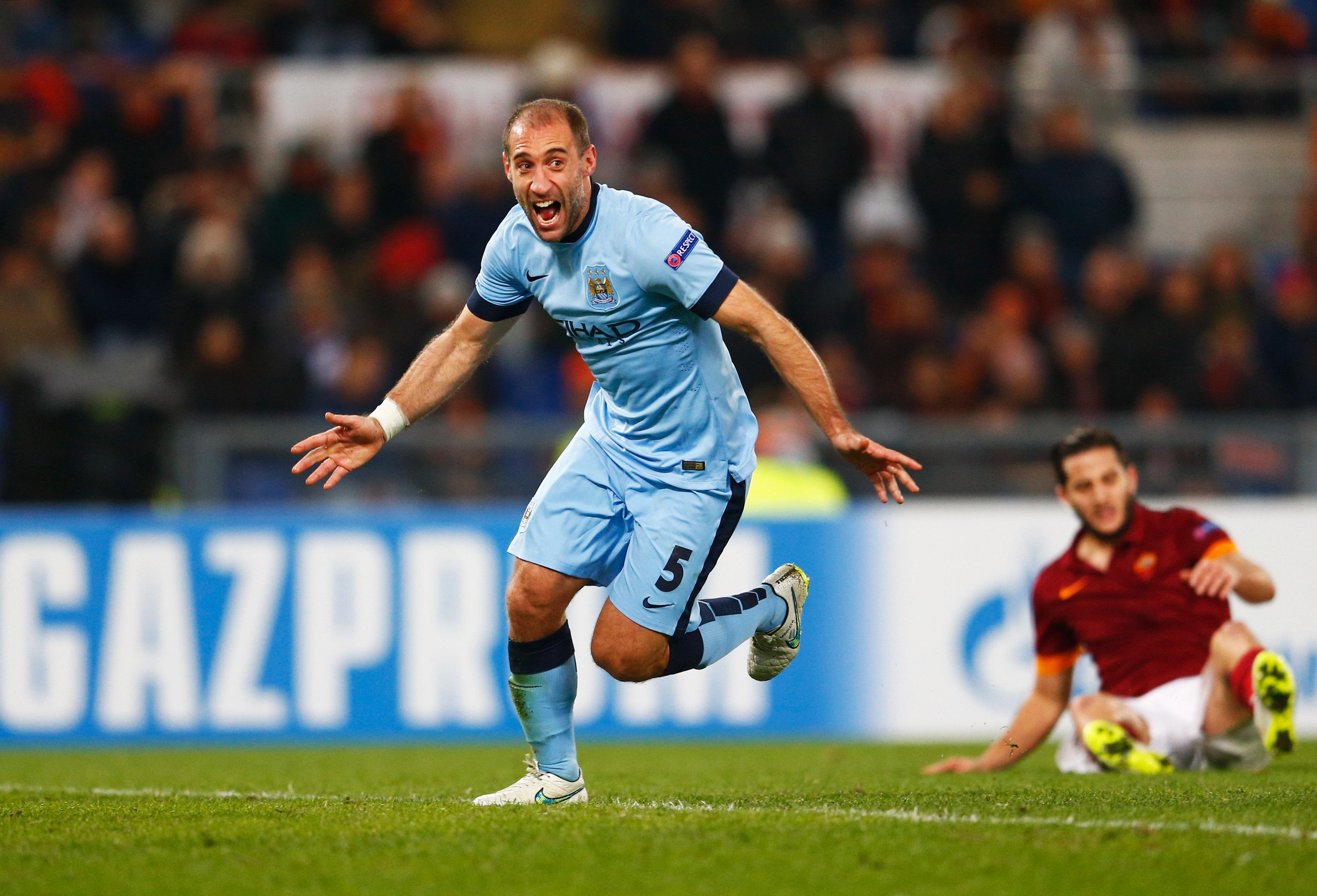 Pablo Zabaleta Manchester City