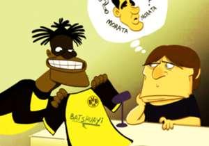 Michy Batshuayi terus menjadi bintang bagi Borussia Dortmund dengan mencetak lima gol dalam tiga pertandingan, dan tampaknya situasi itu membuat Antonio Conte gusar karena Morata dan Giroud masih belum menunjukkan performa terbaik.