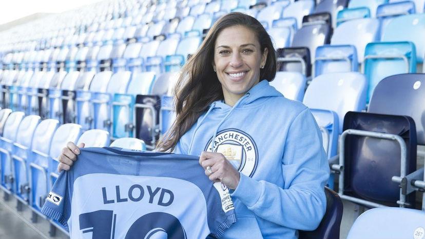 Carli Lloyd Manchester City
