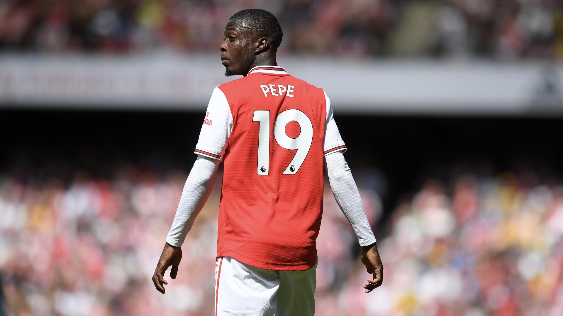 """Arsenal - Emery : """"Pépé est prêt à avoir plus de temps de jeu"""""""
