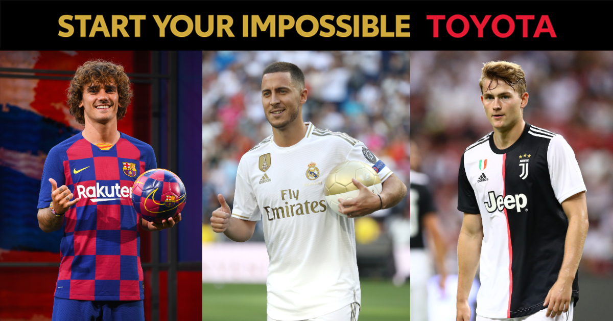 POLL: Hazard, Griezmann or De Ligt - which new signing will have the biggest impact?