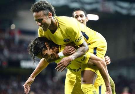 Neymar schittert en wint met PSG