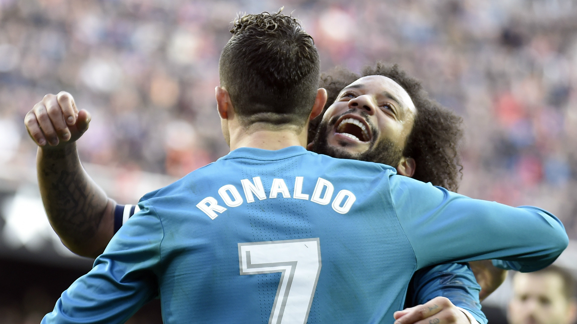 Real Madrid Miss Best In The World Ronaldo Admits Marcelo